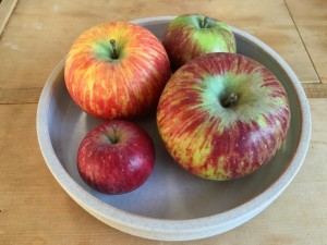 bowl of apples